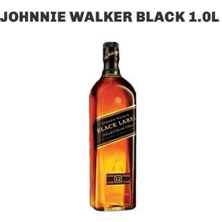 Johnnie Walker Black Label (1 Liter)