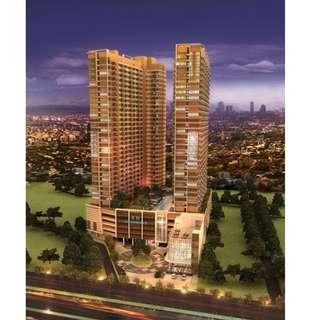 1 bedroom with balcony fully furnished brand new condominium in the Radiance Manila Bay . near MOA