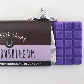 BUBBLEGUM Chocolate Block Soap