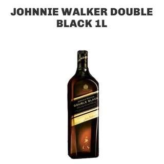 Johnnie Walker Double Black (1 Liter)