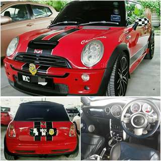 SAMBUNG BAYAR / CONTINUE LOAN  MINI COOPER RC32 1.6CC (A)