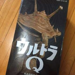 """全新絕版 Medicom RAH Ultra Q Kanegon 超人 食錢獸 12"""" Action Figure"""