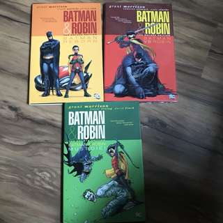 Batman and Robin by Grant Morrison DLX HC