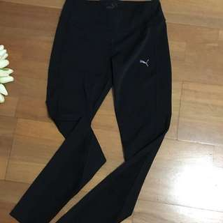 Puma full length tights Size S