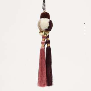 Pull & Bear Pompom Key ring