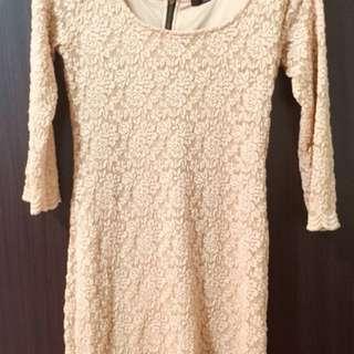 Laced Mini Dress