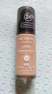Authentic Revlon Colorstay Liquid Foundation (Golden Beige)