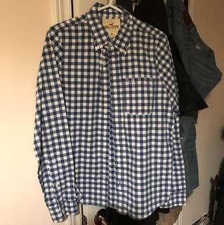 Hollister Checkered Shirt M