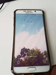 Samsung galaxy note 5 64GB white pearl