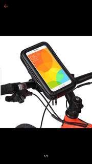 Phone holder pouch (handlebar mount)