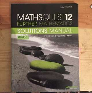 Maths Quest 12 Further Maths Solutions Manual