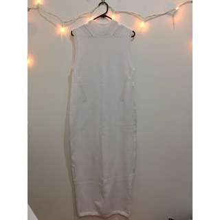 NEW! ASOS white maxi dress