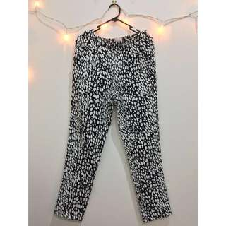 OTTO MODE printed trousers