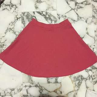 New Look Pink Skater Skirt
