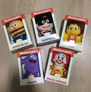 McDonalds plush toys