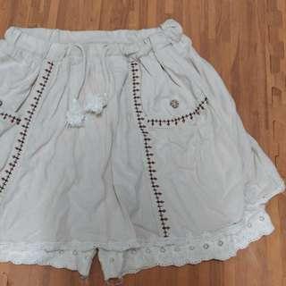 民俗風短褲裙