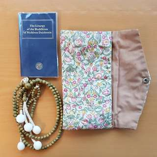 Soka Prayer Beads and Scripture