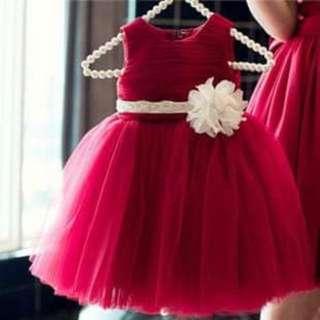 Preloved Gown 4-5y