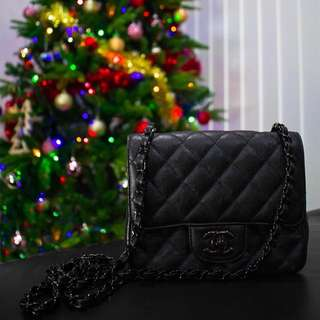 Chanel so black square mini