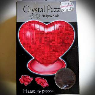 Heart puzzle - new in box