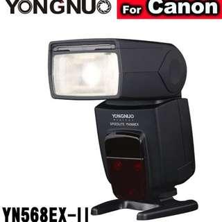 【永諾】YN568EX II 閃燈 YN568EX-II YN-568EXII