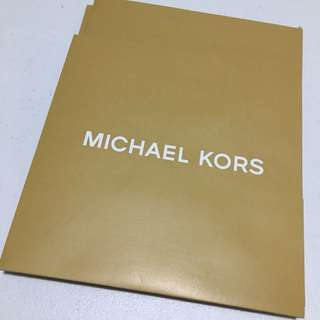 Michael Kors Small Gift Box & Paper Bag