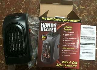 Handy heater 隨處插暖風機 400w 最後一部現貨