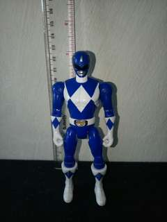 Power rangers mighty morphin rangers blue , bandai 5 inch