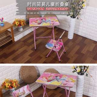 Princess table ready stock