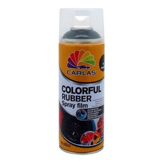 Carlas Colorful Rubber Spray film 400ml (G4 Glossy Black)