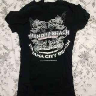 Thunder beach tour shirt
