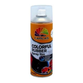 Carlas Colorful Rubber Spray film 400ml (C1580 Gearing Silver)