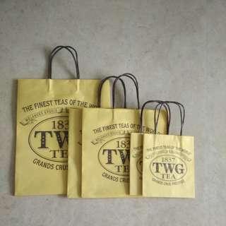 TWG paper bag