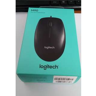 Mouse Kabel Logitech M90 Brand New in Box (original)