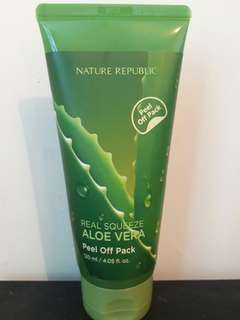 Nature republic aloe vera peel off pack