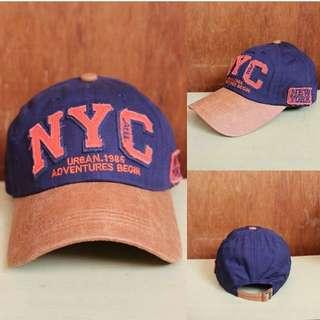 Topi Baseball Import Pria NYC