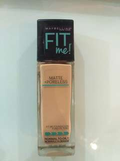 Maybelline Fit Me Matte + Poreless Shade 128