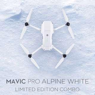 Mavic Pro Alpine White Christmas Special