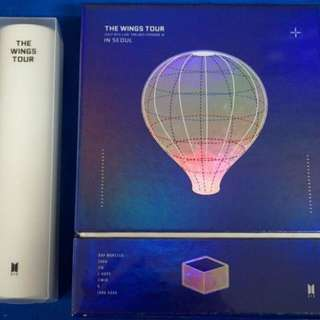 BTS LIVE TRILOGY EPISODE 3 The Wings Tour In Seoul Concert DVD