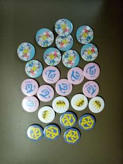 Button Badges Kpop