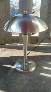 Exotic Silver Lamp