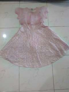 Kids Pink dress (Good quality)