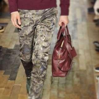 valentino runway camofloral pants