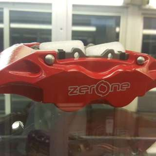 ZerOne Twin Pot Disc Brake Caliper Kit
