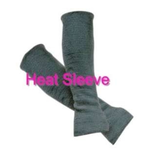 "Arm Protection Sleeves (One Pair)      Heat protection for the forearms.     Great for reaching into hot engine compartment, around brake rotors & exhaust areas.     Made of Durable, Heat-Resistant Modacrylic. 45cm (18"" ) Long"