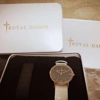 羅亞戴蒙 手錶 對錶 兩支一組