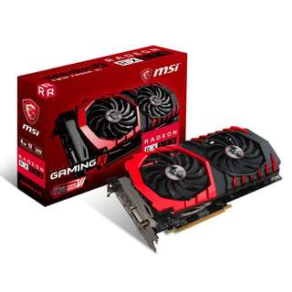 MSI Radeon RX 570 GAMING X 4G (AMD RADEON™ RX 570 4GB)