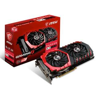 MSI Radeon RX 580 GAMING X 8G (AMD RADEON™ RX 580 8GB)
