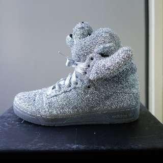 Adidas Originals by Jeremy Scott JS BEARS SILVER 波鞋