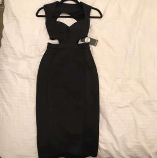 BOOHOO MIDI DRESS